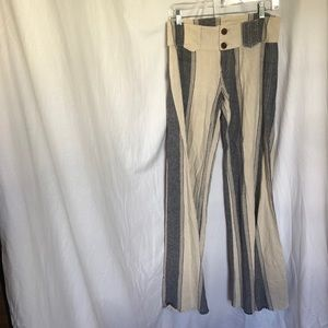 Free People Low Rise Beach Pants